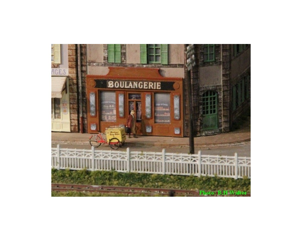 Triporteur boulanger 87e