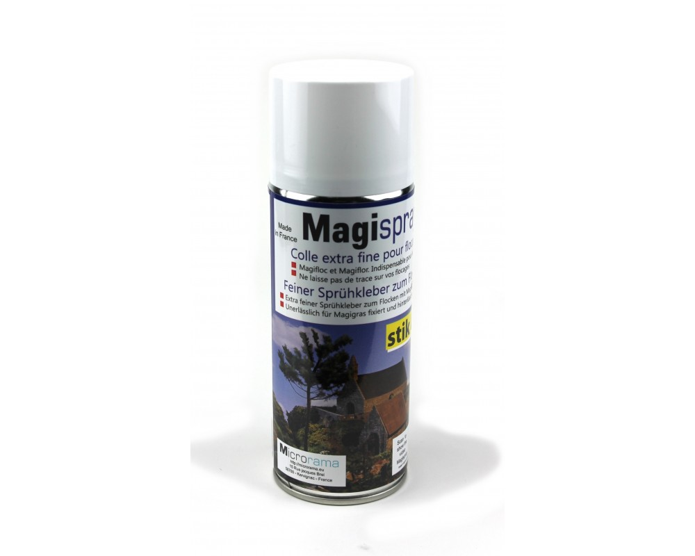 Colle extra fine Magispray transparente 400 ml