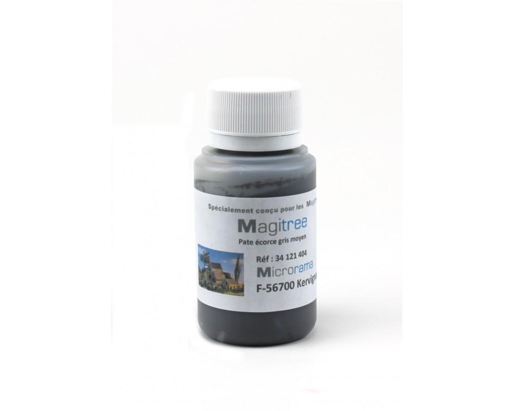 Pot de 50 grammes de pate écorse gris chêne HO