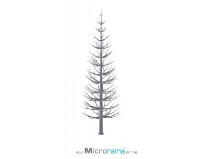Microrama Abete in scala 20 cm HO