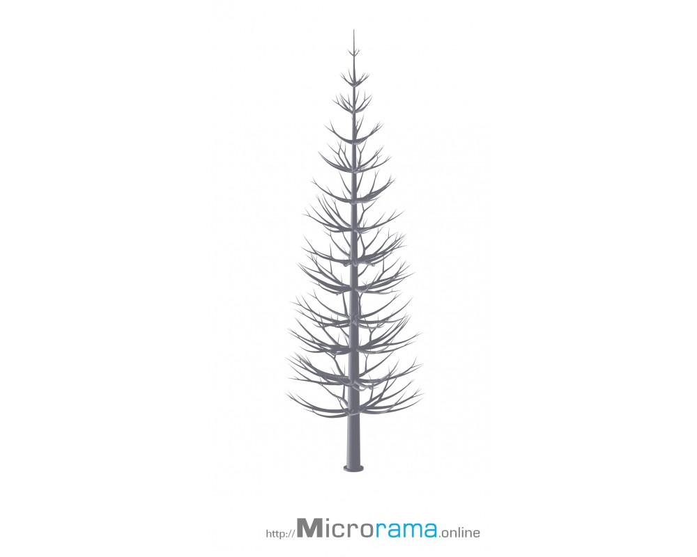 Microrama Fichte 20 cm Masstab HO