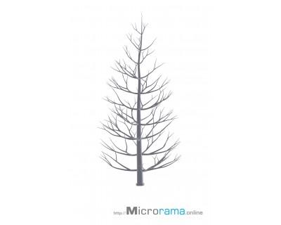 Microrama Abete in scala 10 cm HO