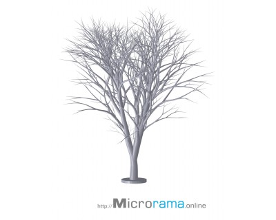 Dreifach verzweigte Zypresse von Alembert im Maßstab 8 cm HO