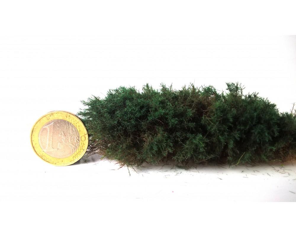 Vert conifère 1 mm. Herbe statique en fibre Magifloc