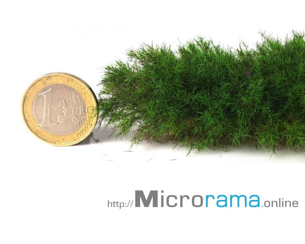 Vert conifère 2 mm. Herbe statique en fibre Magifloc