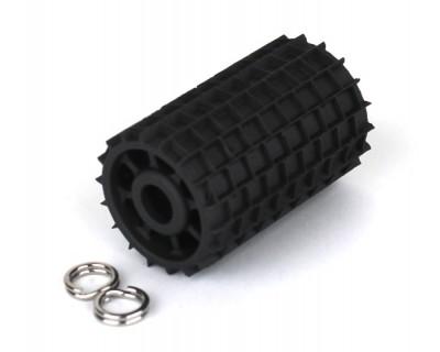 Rouleau à grâver les pavés ou les pierres 4 mm x 4 mm Longeur 35 mm