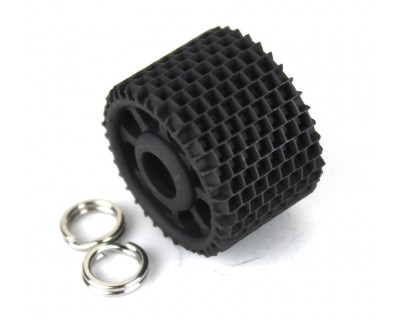 Roller to grate the paving stones or stones 2 mm x 2 mm Length 16 mm