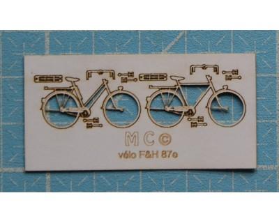 hombre bicicleta años 30/40