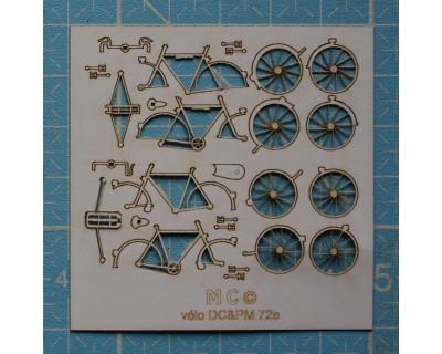 Media moto de carreras y transportador Motobecane30/40's
