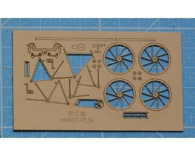 bicicletta mezza corsa anni 50