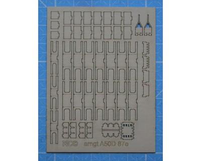 Desarrollo del A50D 1/87