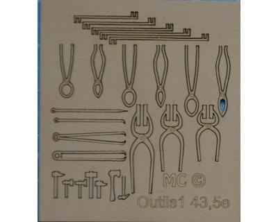 herramientas de herrería