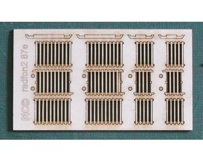 Radiadores de hierro fundido modelo grande H0
