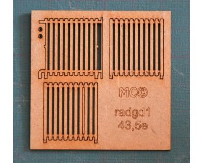 Cast iron radiators model 0