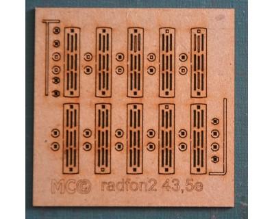 Radiadores de hierro fundido modelo grande 0