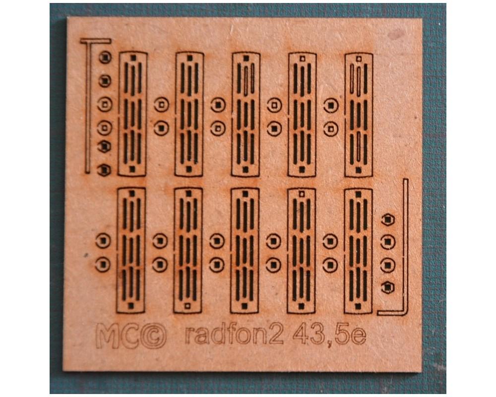 Radiateurs en fonte grand modèle 0