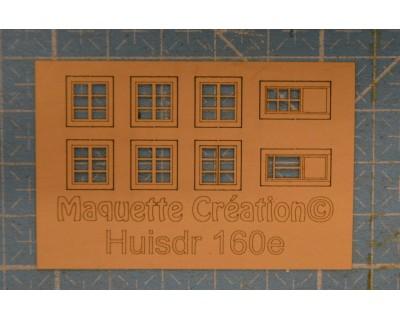 Zargen für gerade Fensterläden L60H130