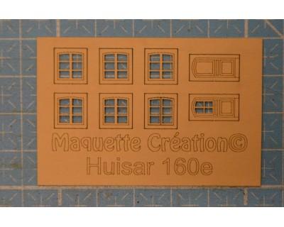Rahmen für gerundete Fensterläden L60H130