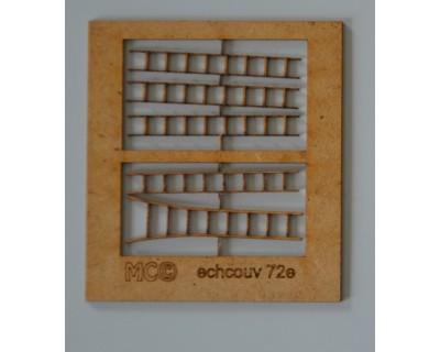 Scale di legno per tetti 72