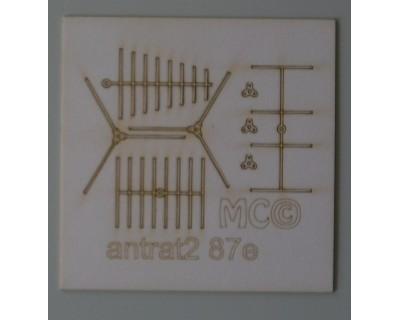 Antenne di gendarmeria/radioamatori 87°
