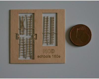 Holz-Stufenleitern 160e
