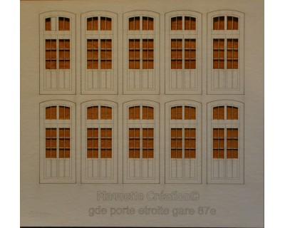 Grandes fenêtres gare 87e