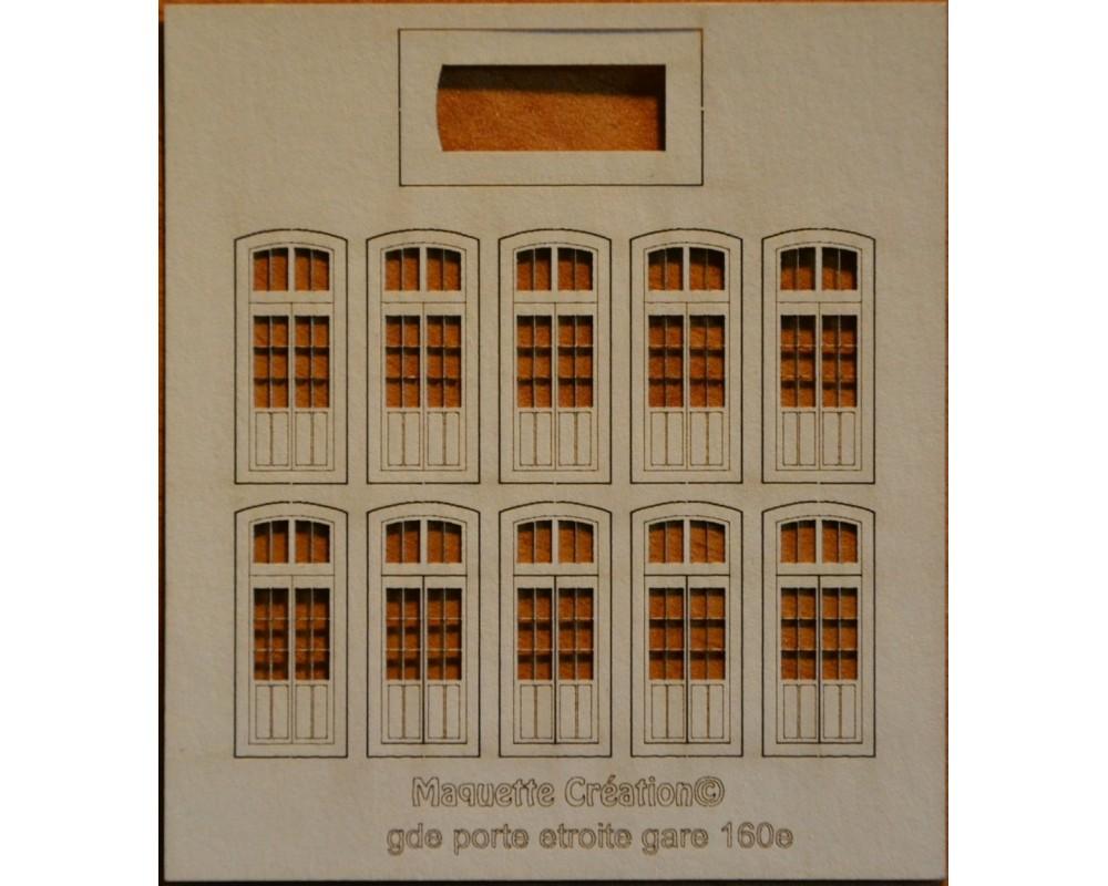 Grandes portes étroites gare 160e