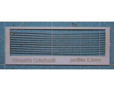 Profil 0,3mm