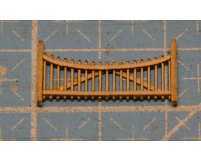 Barriere di legno 160e