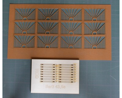 clôture design  43,5e