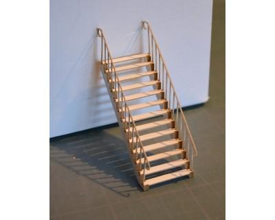 Escalier métallique 43,5e