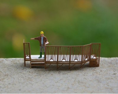 Caravan terrace H0