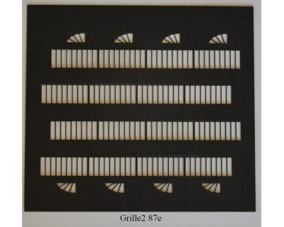 Grilles mobiles 87e