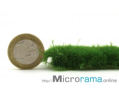 Feder grün 2 mm. Statisches Gras in Magifloc-Faser
