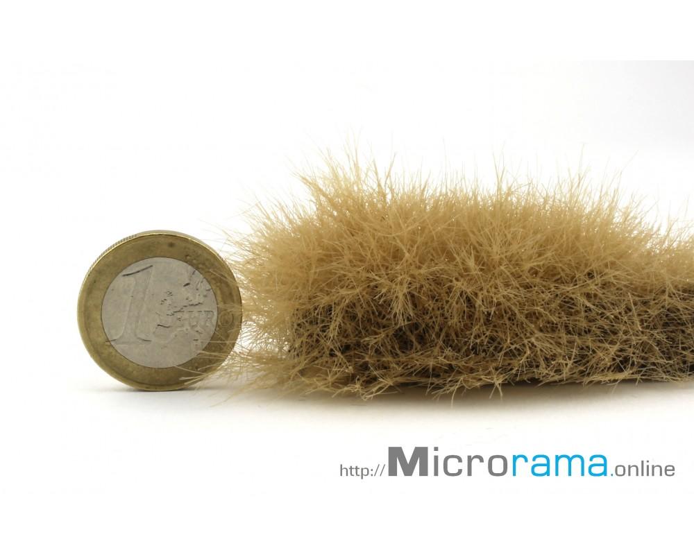 Café au lait 6 mm. Herbe statique en fibre Magifloc