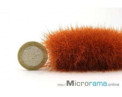 Rust 6 mm. Static grass in Magifloc fiber