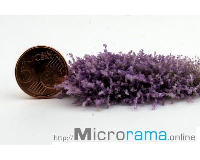 Violet 0.5 mm  Flocken Magiflor Blüten Darstellung