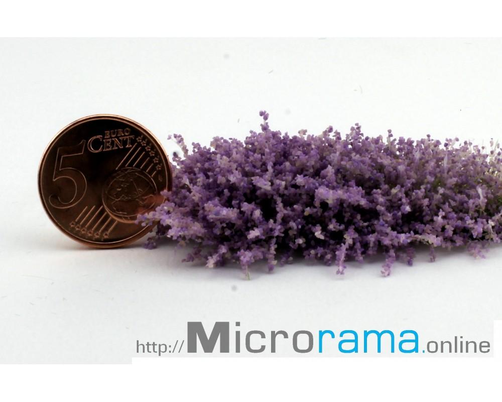 Violet 0.5 mm flocage Inflorescence Magiflor