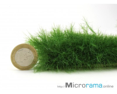 Verde oliva 6 mm. Erba statica in fibra Magifloc