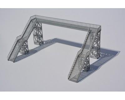 Metal walkway