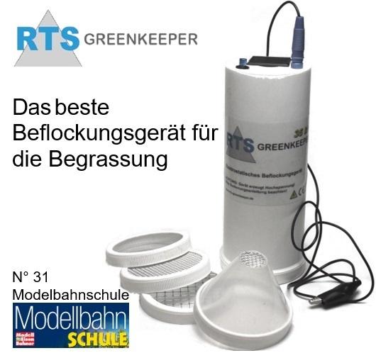 RTS Greenkeeper Begrassung Beflockunsgerät Microrama