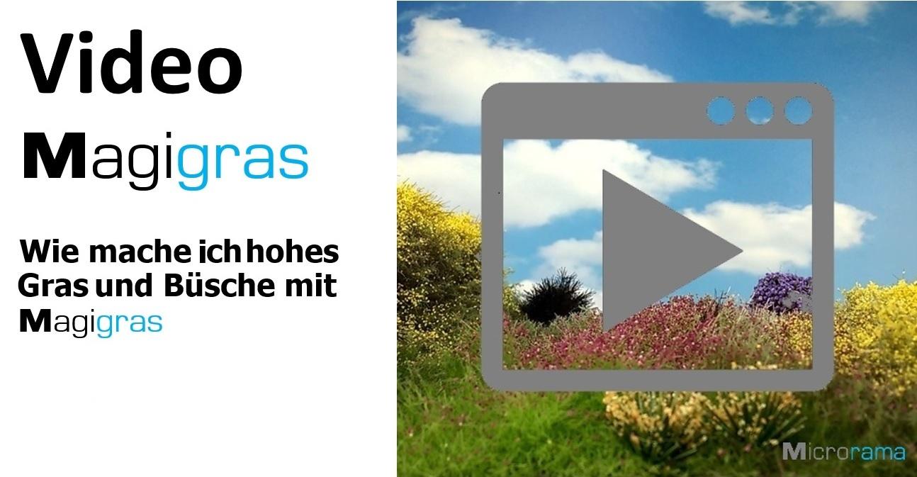 Gras modelau Magigras Microrama