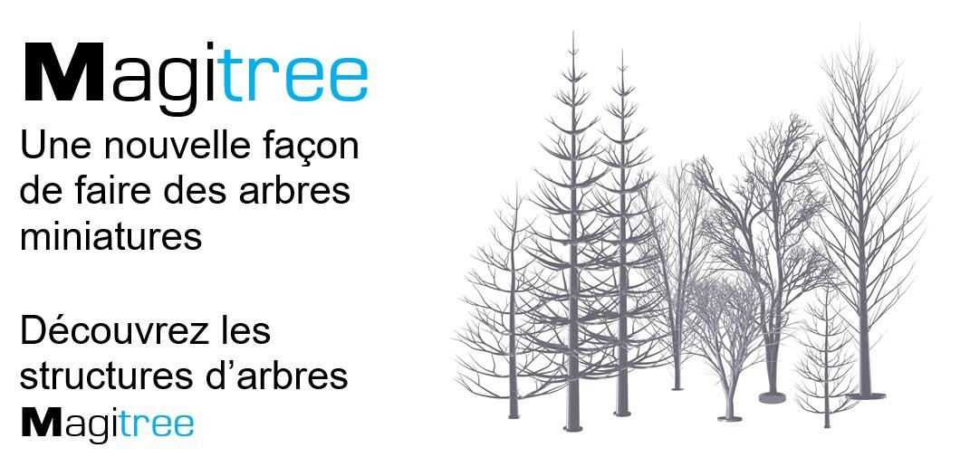 Magitree  arbres miniatures