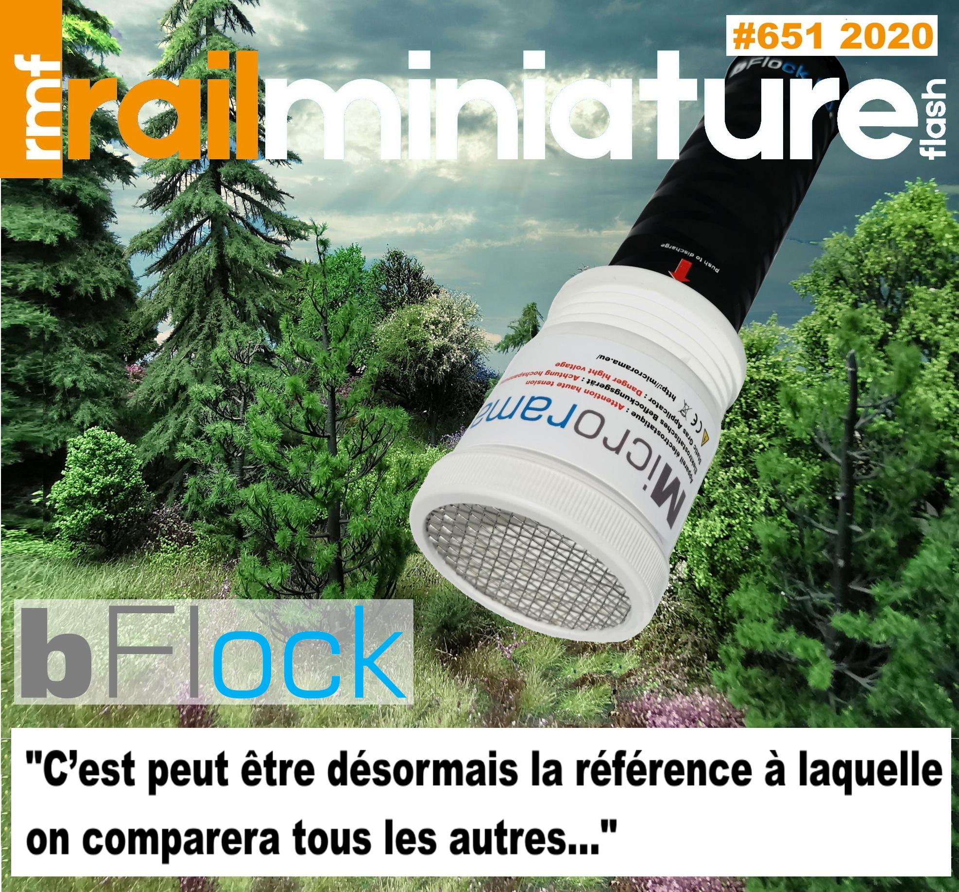 Applicateur d'herbe Microrama bFlock 50